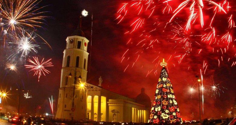 Новый год 2018, Вильнюс | Новогодний